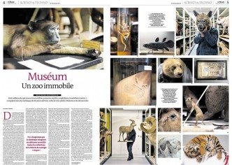 Le Monde Sciences et Technologies. Muséum, un zoo immobile